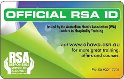 Official RSA ID Card