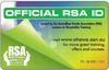 Official RSA ID Card