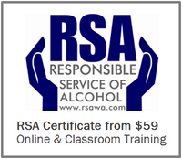 Responsible Service of Alcohol RSA