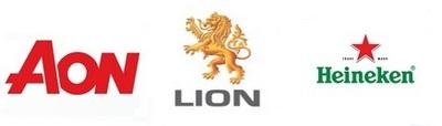AON, Lion, Heineken