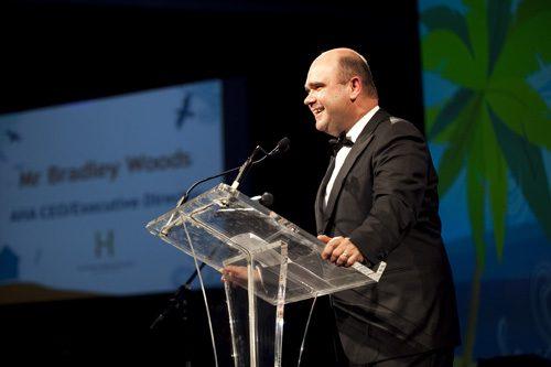 AHA CEO/Executive Director Bradley Woods