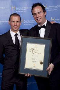 Lion Nathan Bar Presentation & Service Award - The Breakwater