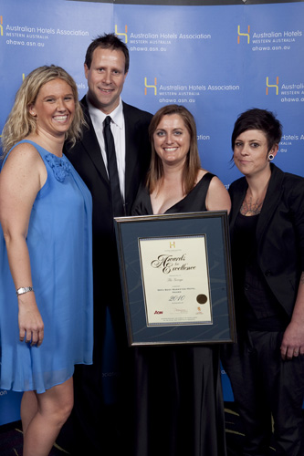 WA's Best Marketed Hotel Award - The George