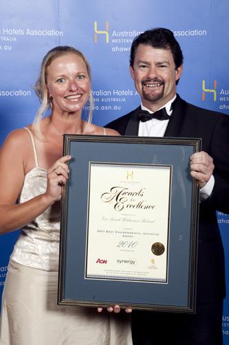 WA's Best Environmental Initiative Award - Eco Beach Wilderness Retreat