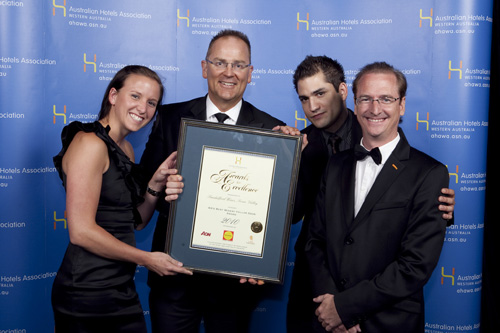 WA's Best Winery Cellar Door Award - Sandalford Wines, Swan Valley