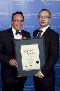 WA's Best Front Office/Guest Services Award - Sheraton Perth Hotel