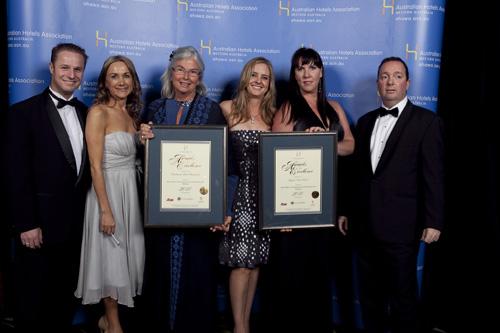 WA's Best Superior Accommodation Award - Joint Winners: Esplanade Hotel Fremantle & Rydges Perth Hotel