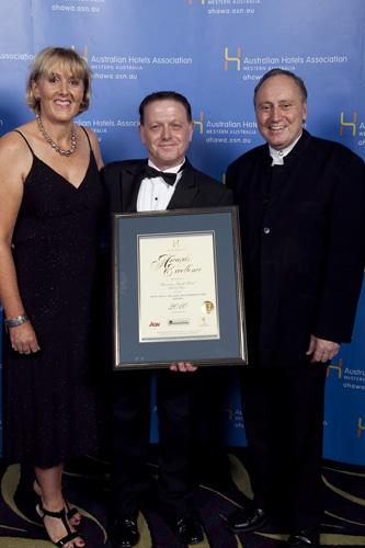 WA's Best Deluxe Accommodation Award - Sheraton Perth Hotel