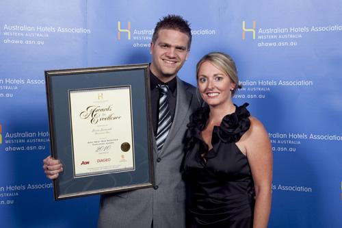 WA's Best Bar Services Employee Award - Jason Juraszek, Universal Bar