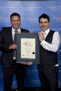 WA's Best Cookery Services Employee Award - Benjamin Beaton, The Publican Bar & Cafe