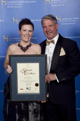 WA's Best Front Office Services Employee Award - Joanne Barnes, Crowne Plaza Perth