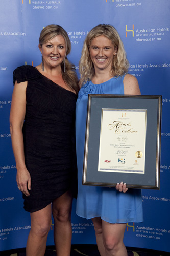WA's Best Administration Employee Award - Meg Coffey, The George