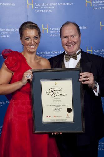 WA's Best Excellence in Service Award - Els Jennings, The Breakwater