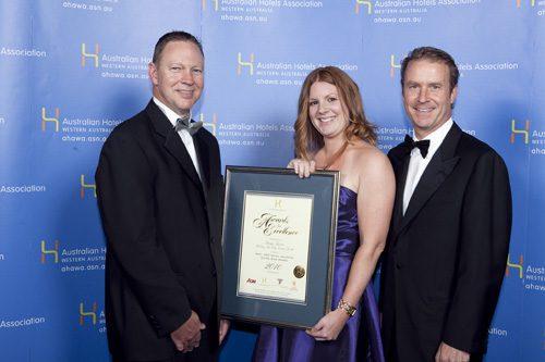 AHA-HGT Hotel Industry Rising Star Award - Taryn Spicer, Holiday Inn City Centre Perth