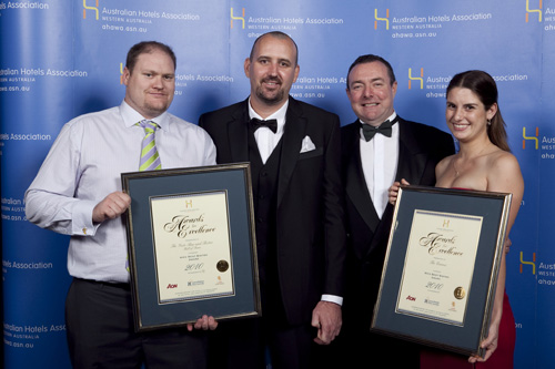 WA's Best Bistro Award - Joint winners: The Gate Bar and Bistro (Hall of Fame Inductee) and The Queens