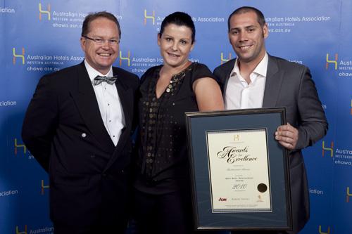WA's Best Restaurant Award - Restaurant Amuse