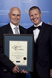 WA's Best Accommodation Hotel Wine List Award - Club Restaurant, Cable Beach Club Resort and Spa