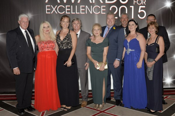 2015 AHA & Aon Hospitality Awards for Excellence presented at the Lion Gala Ball