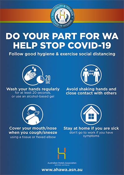 DO YOUR PART FOR WA HELP STOP COVID-19
