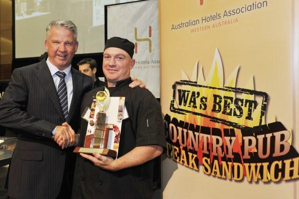 Bridgetown Hotel makes the best steak sandwich in WA