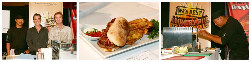 2008 WA's Best Country Pub Steak Sandwich