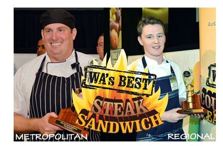 2013 Winners WA's Best Steak Sandwich Competition